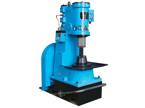 C41-16kg single with base plate pneumatic hammer forging