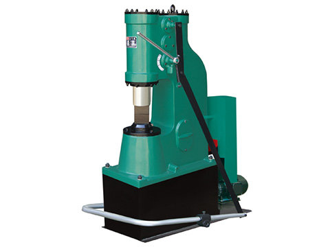 C41-25kg single with base plate power forging hammer