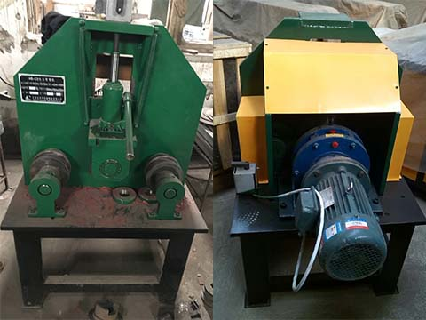 hydraulic square tube bending machine