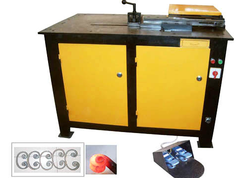 metal craft coil making machine
