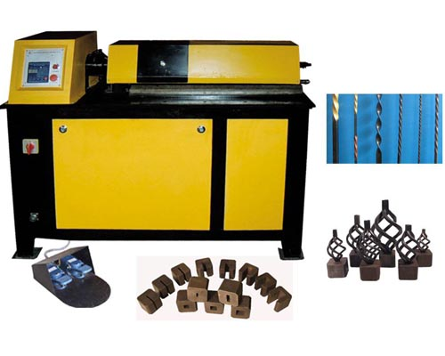 EL-DN25D wrought iron basket making machine for sale