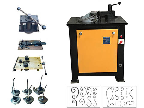 EL-DW16Dwrought iron bending machines