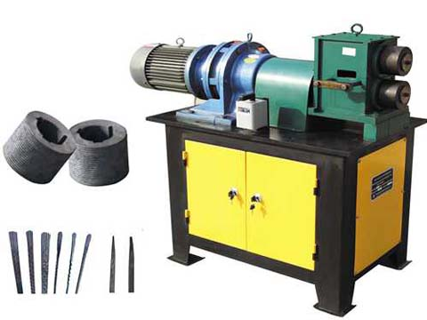EL-F4 wrought iron fishtail shaping machine