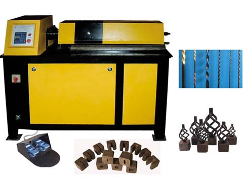 wrought iron basket making machine